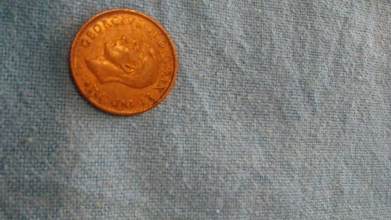 1943 one cent Canada coin
