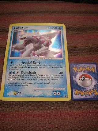 Giant Foil Pokemon card: Palkia