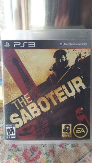 The Saboteur PS3 (See photos)