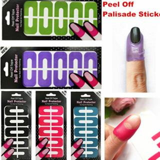 Peel Off Nail Art Tips Tape Palisade Cuticle Sticker Polish Hedge Base Coat cn