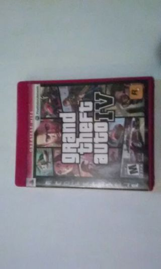 Grand Theft Auto: IV Ps3 Game