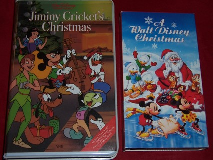 a walt disney christmas jiminy crickets christmas on vhs - A Walt Disney Christmas Dvd