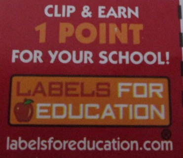 Labels For Education, 5 Points for Your School!