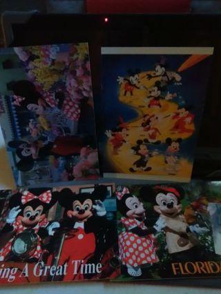 Mickey Florida postcards (4)