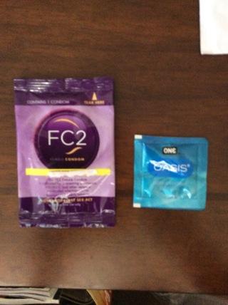 Female Condom/Lubricant