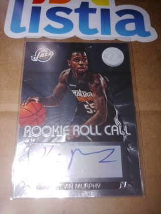 KEVIN MURPHY ⭐UTAH JAZZ⭐2013 TOTALLY CERTIFIED ⭐ROOKIE AUTOGRAPH ⭐FREE $HIPPING