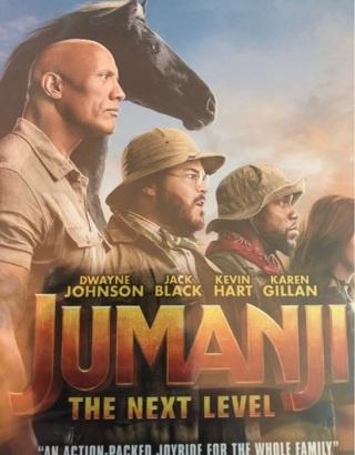 Jumanji next level digital copy