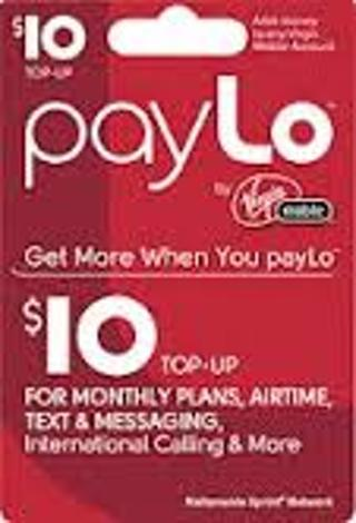 Free: VIRGIN MOBILE 10 00 PAYLO CARD - Phones - Listia com Auctions