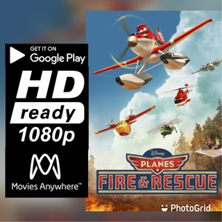 PLANES: FIRE AND RESCUE HD GOOGLE PLAY CODE ONLY