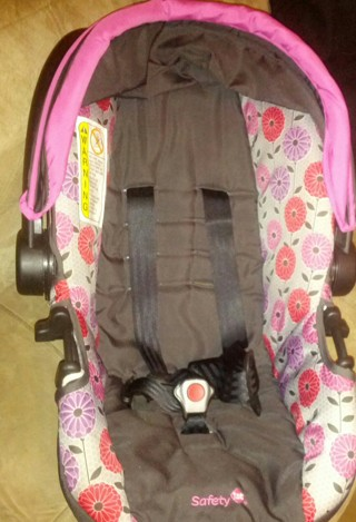 Free: Safety 1st Travel System, Pink & Purple Flower - Baby Gear ...