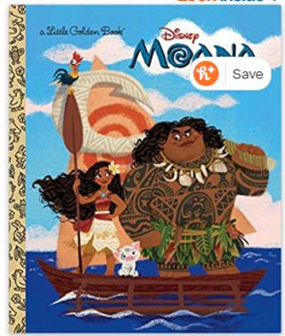 Moana Little Golden Book (Disney Moana) Hardcover