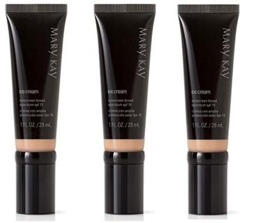 (SET OF Three) Brand NEW MK CC Cream Sunscreen Broad Spectrum SPF 15 (FULLSIZE)