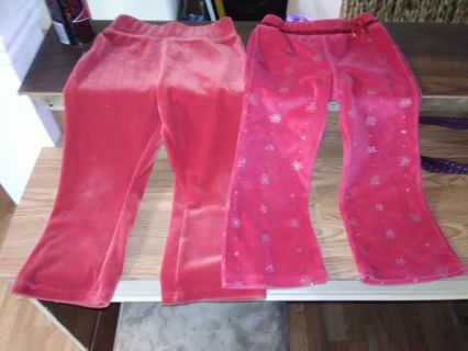 Gently Used Toddler Girls' Pants (Read Details)