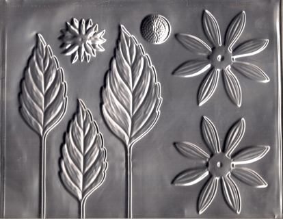 aluminium mold used to make artificial flowers in the 1960s