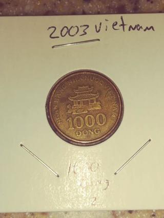 2003 Vietnamese 1000 Dong Coin! 280