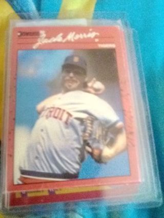 1990 Donruss #639 Jack Morris