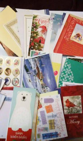 Christmas Cards & More *Pls Read Description
