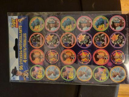 Toy Story 4 pack of 96 Stickers