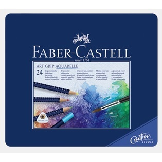 free: new~faber-castell art grip aquarelle watercolor