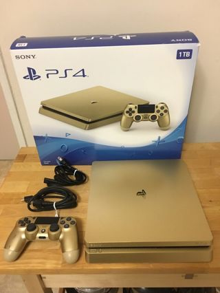 Free: PS4 Slim 1TB Gold Console Used - PlayStation Consoles