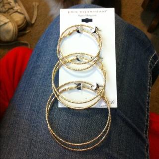 Earrings 3 Set