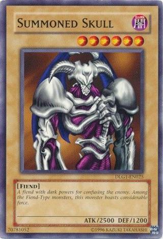 Yu-Gi-Oh! Summoned Skull - DLG1-EN025 - Common Dark Legends DLG1 YuGiOh Cards TCG