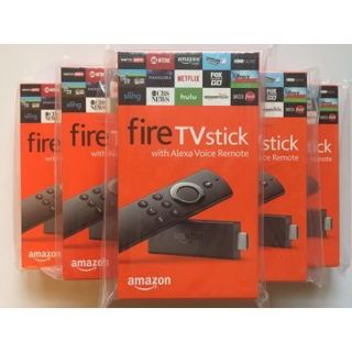 1 NEW Fire TV Stick with Alexa Voice Remote | Streaming Media Player FREE SHIPPING