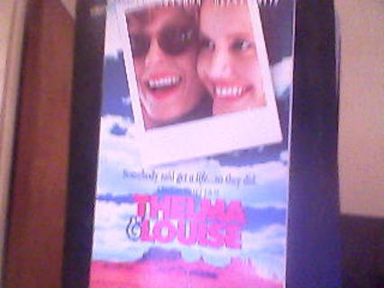 movie  Thelma&louise   vhs tape