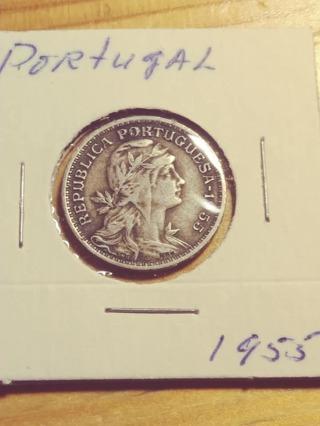 1955 Portugal 50 Centavos! 91