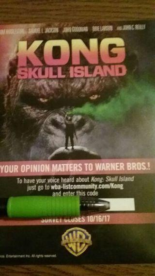 Kong Skull Island HD code