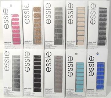 1 essie sleek stick uv cured nail wrap kit $7.99-$9.99 brand new FREE SHIPPING