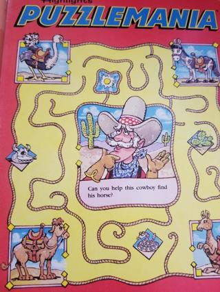 Highlights PUZZLEMANIA Book