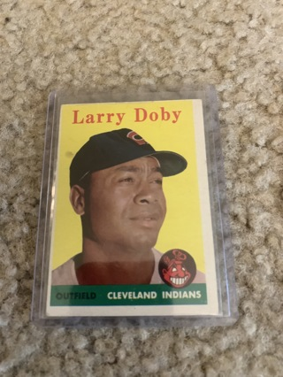 Larry Doby 1958 Topps #424 Cleveland Indians