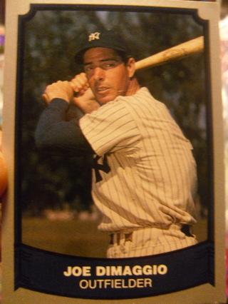 Joe Dimaggio Baseball Card