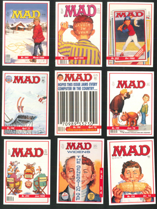 MAD MAGAZINE BOOSTER PACK 1992 MAD MAGAZINE Trading Cards Alfred E. Neuman