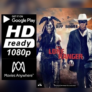 THE LONE RANGER HD GOOGLE PLAY CODE ONLY
