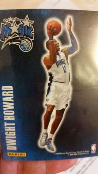 2009 Dwight Howard Orlando Magic Panini sticker