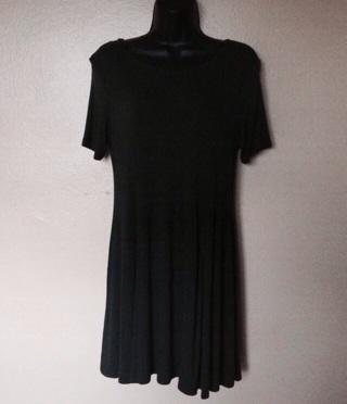 Forever 21 Dark Green Skater Dress, Sz Large