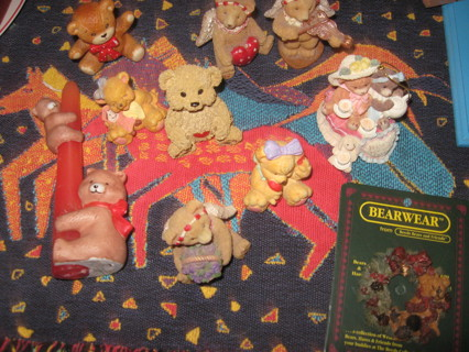 Lot of collectible bears