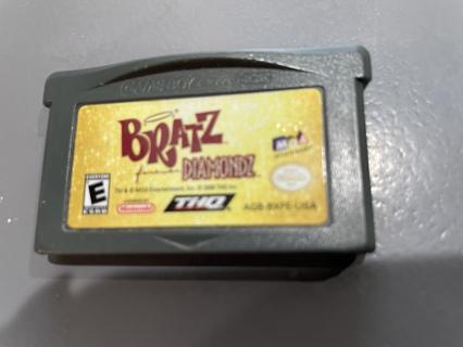 Vintage Nintendo Gameboy Bratz Forever Diamondz Game
