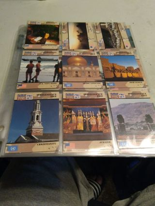 9 random desert storm cards with sleeve
