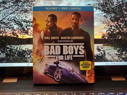 Bad Boys For Life Blu-Ray + DVD Disc Set