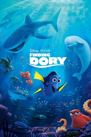 FINDING DORY⭐️HD MOVIES ANYWHERE CODE⭐️FAST DELIVERY!