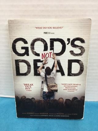 L425  DVD 2013  GOD'S NOT DEAD KEVIN SORBO DEAN CAIN ROBERTSONS