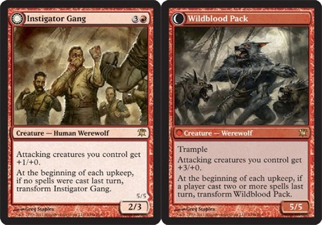 free red green rares double sided mtg magic cards trading