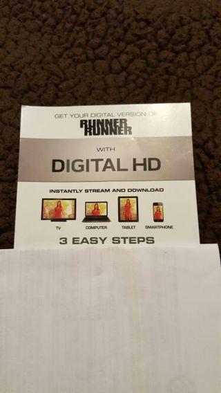 Runner Runner UV Digital Download