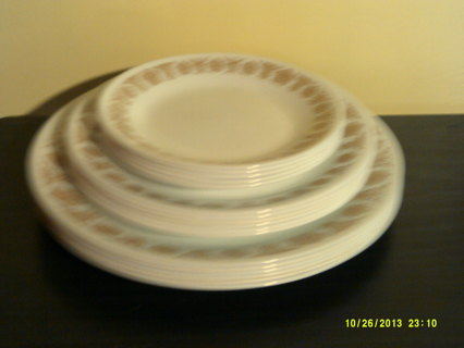 Free: Vintage Retired Corelle Dishes Set BUTTERFLY GOLD - Kitchen ...