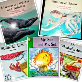 (5) Children's Educational Learning Books! (NEW-G/VGC)