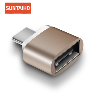 Suntaiho OTG Type C Adapter to USB 2.0 OTG USB C to USB Converter for Xiaomi mi 5 mi max 3 Note 8
