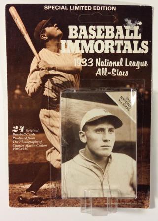 Free 1988 Sporting News Baseball Immortals 1933 National